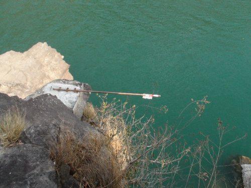 Lidar Sensor at Chisapani Station upstream