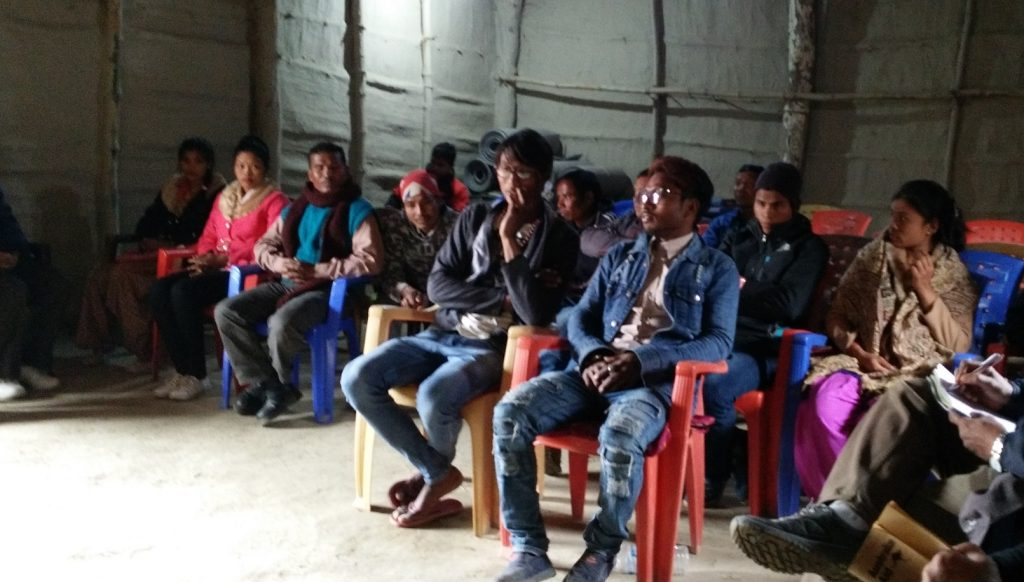 Youth workshop trainees from Rajapur