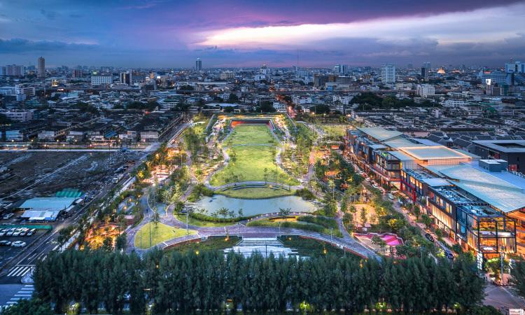 floods resilience architecture Bangkok thailand Kotchakorn Voraakhom  Chulalongkorn University Centennial Park