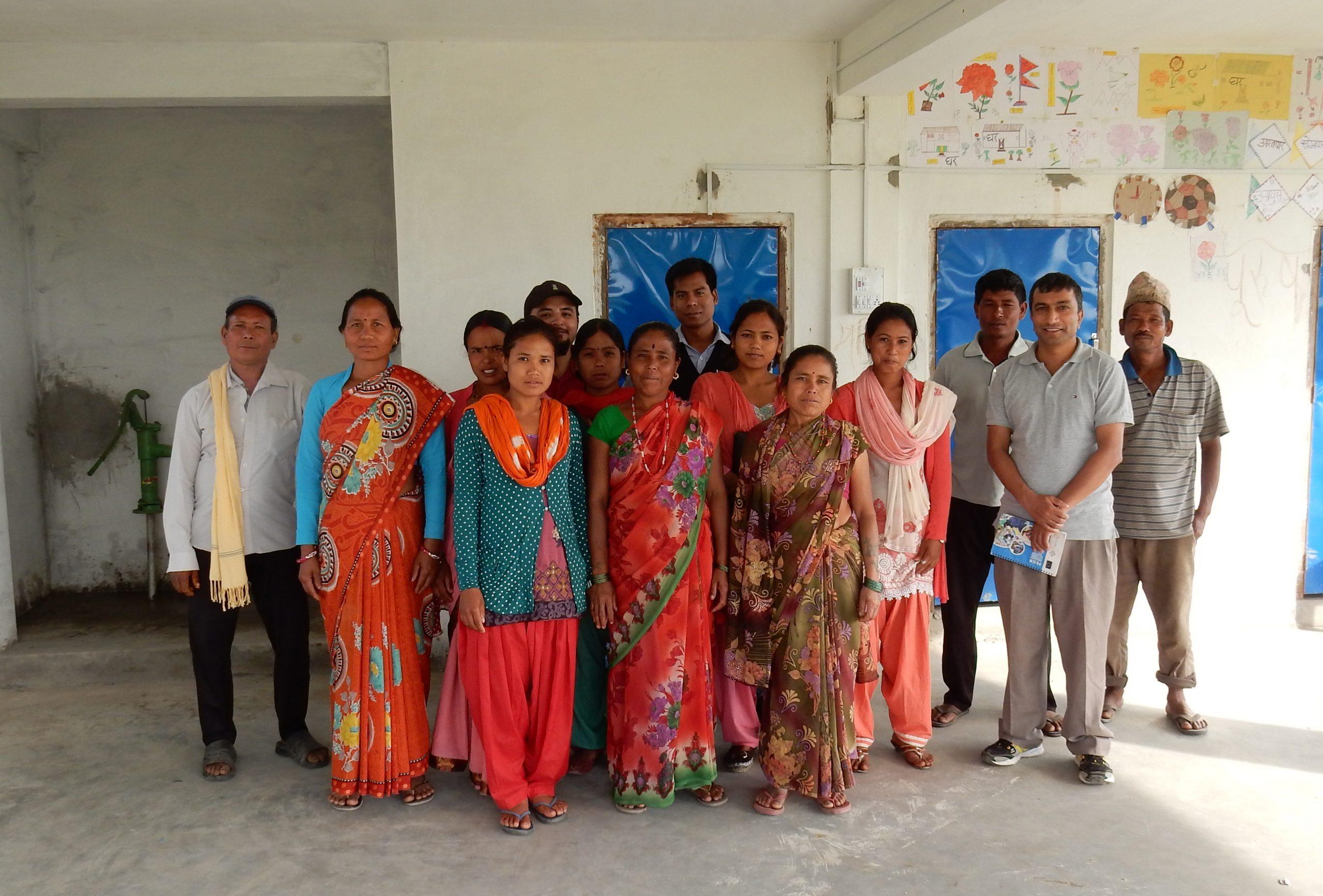 Nepali Community Management Group. Photo: Practical Action.