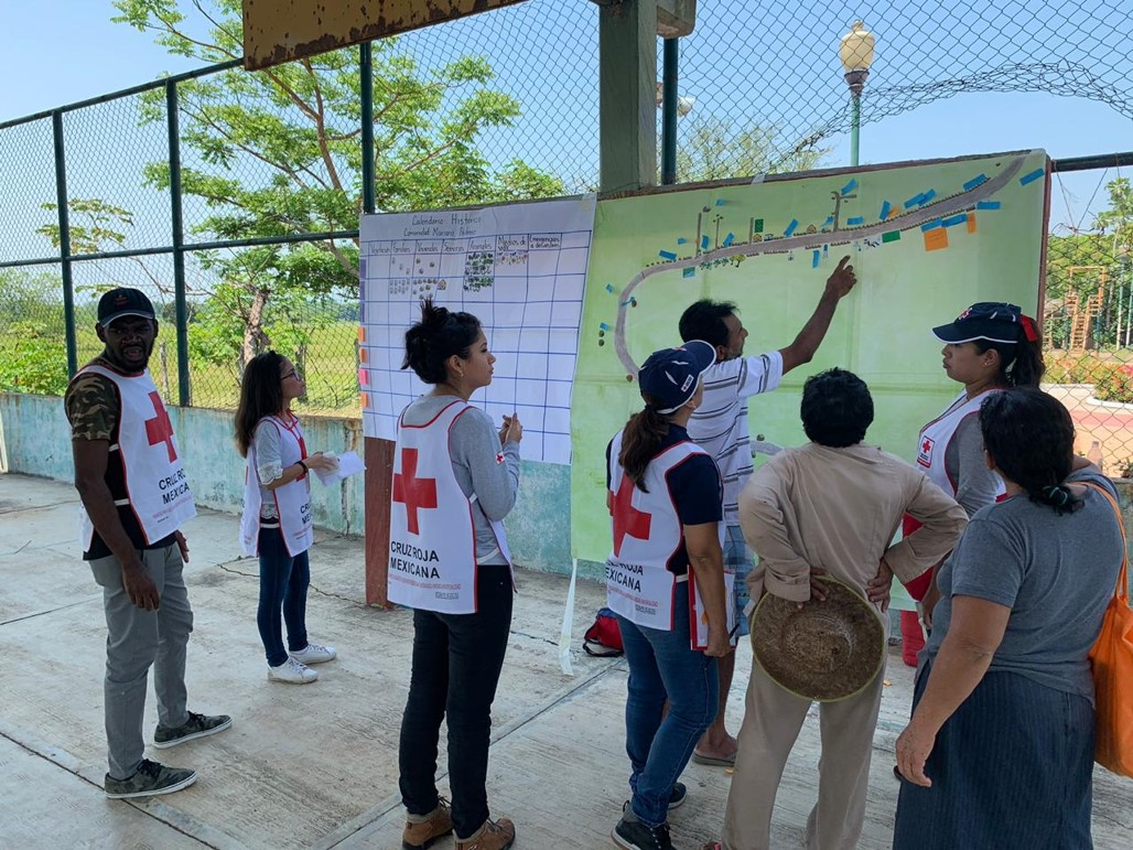 >Mapping exercise in Mexico. Photo: Paulo Cerino, Mexico Red Cross
