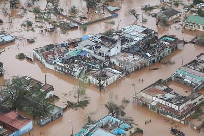 Cyclone Idai devastated areas of Zimbabwe, Malawi, and Mozambique.