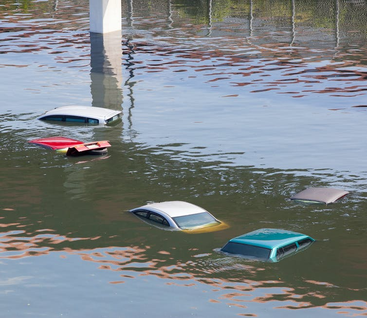 When flooding overwhelms the system, the consequences can be dangerous and costly. Credit: Shutterstock