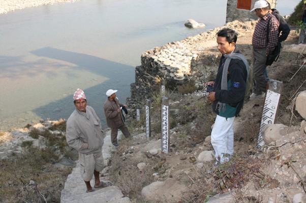 River gauges in Nepal
