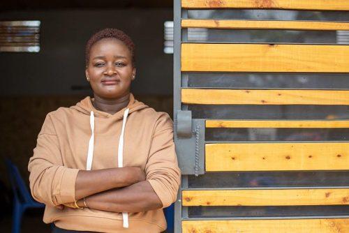 Caroline Owala, a KDI board member and former Kibera resident.