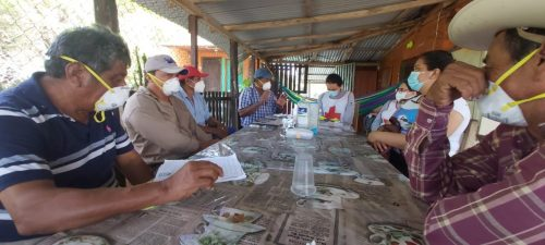Zone Brigade Coordinators meet to discuss the flood situation in communities and potential response activities