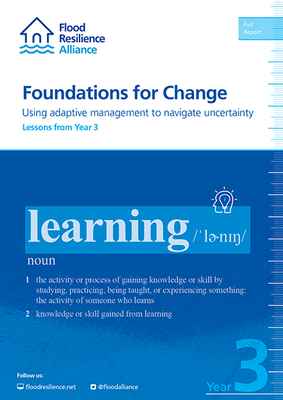 Foundations for change: Using adaptive management to navigate uncertainty. The role of trust