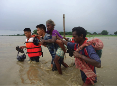 Lack of gender equity and social inclusion means vulnerable groups face severe difficulty in evacuating during floods.